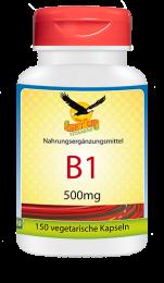 Vitamin B1 a  500mg, 150 veg. Kapseln