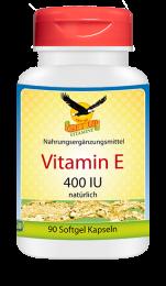 Vitamin E 400 IU natürlich, 90 Softgels