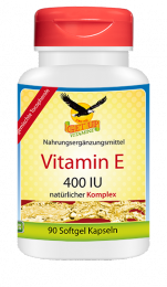 Vitamin E 400 IU Komplex, natürlich 90 Softgels