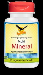 Multi Mineral organisch, 90 veg. Kapseln