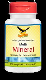 Multi Mineral organisch, 180 veg. Kapseln