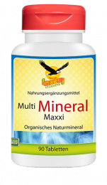 Multi Mineral maxxi organisch, 90 Tabletten