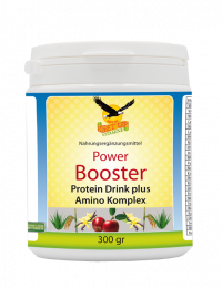 Power Booster + Amino Komplex, 300gr Dose