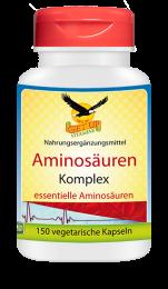 Aminosäuren  Komplex essentielle Aminosäuren, 150 veg. Kapseln