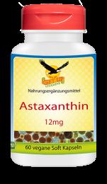 Astaxanthin natürlich 12mg, 60 veg. Kapseln