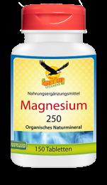 Magnesium 250mg organisch, 150 Tabletten