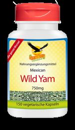 Mexican Wild Yam a 750mg, 150 veg. Kapseln