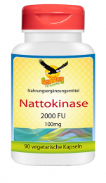 Nattokinase, 100mg, 2000FU, 90 Vacps