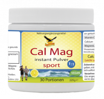 Cal Mag instant Pulver sport, 225g/30 Portionen