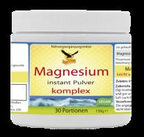 Magnesium instant Pulver komplex, 150g/30 Portionen