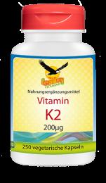 Vitamin K2 Vital MK-7  250 veg Kapseln