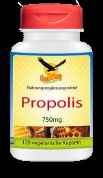 Propolis a 750mg, 120 veg. Kapseln MHD 09/2020