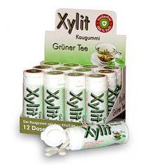 Xylit Kaugummi Grüner Tee, Dose mit 30 Stück