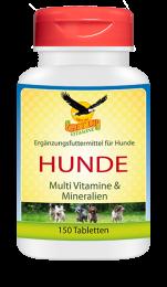 Hunde Multi Vit/Mineral  150 Kau Tabletten
