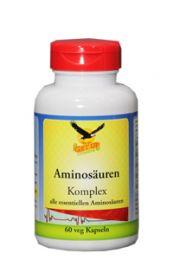 L-Amino Komplex 8+1 essentiell, 60 veg. Kapseln