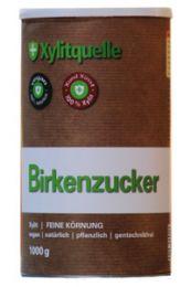 Xylit (Birkenzucker), 1000gr Dose, naturrein & gentechfrei