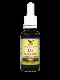 Vitamin D3  1000 IU flüssig, 1000 Tropfen