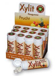Xylit Kaugummi Fruchtig-Frisch, Dose mit 30 Stück