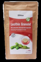 Lecithin natürliches Granulat, 400g wiederverschließbarer Beutel